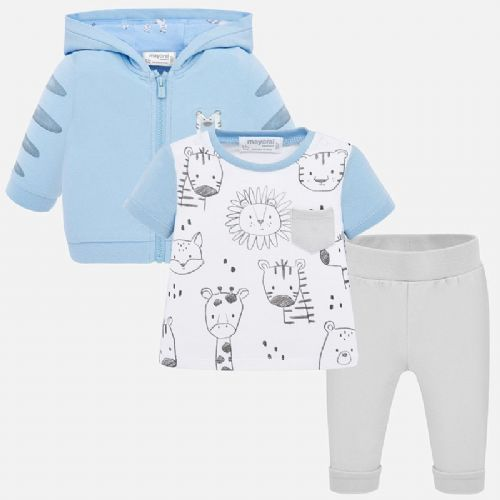 Blue Baby Three Piece Tracksuit